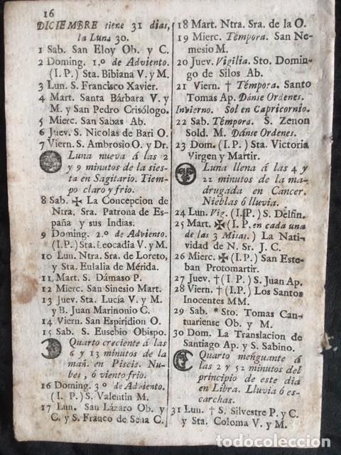 Libros antiguos: CALENDARIO PARA EL PRINCIPADO DE CATALUÑA DEL AÑO DE 1798 - IMPRENTA TORRES Y BRUGADA - Foto 2 - 160393834