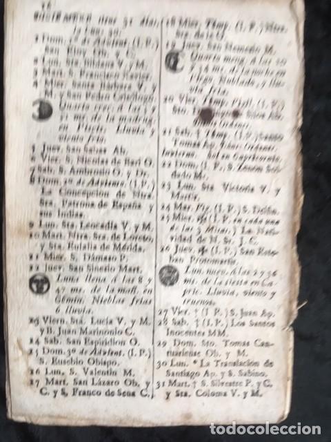 Libros antiguos: CALENDARIO PARA EL PRINCIPADO DE CATALUÑA DEL AÑO DE 1799 - IMPRENTA TORRES Y BRUGADA - Foto 2 - 160394430