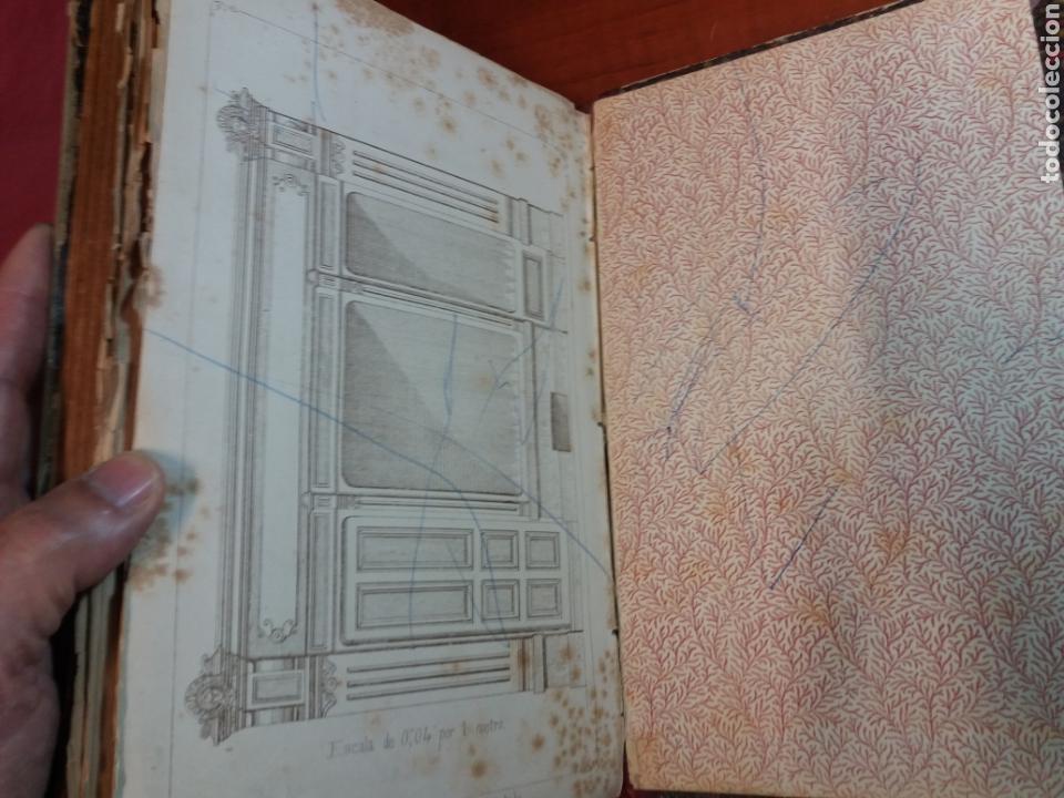 Libros antiguos: Tratado de carpintería - Foto 8 - 160446341