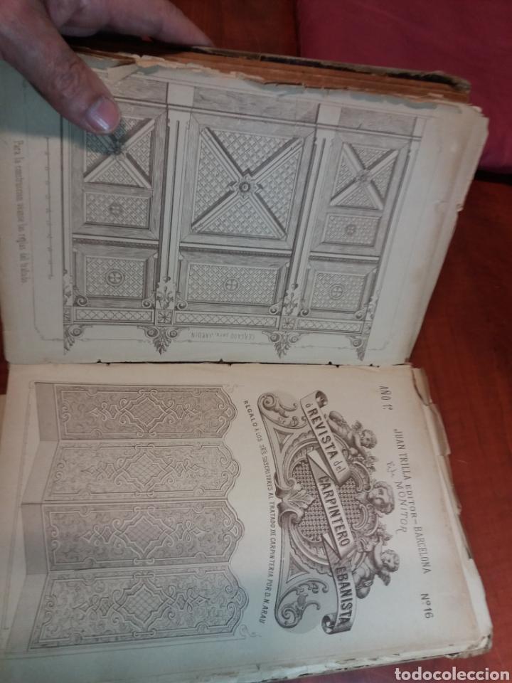 Libros antiguos: Tratado de carpintería - Foto 6 - 160446341