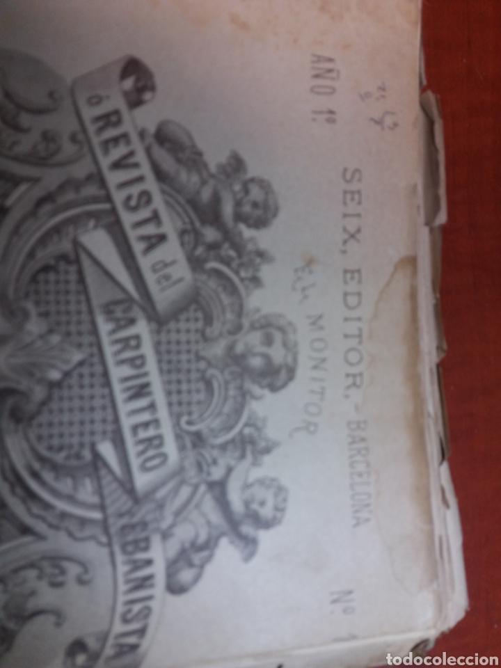 Libros antiguos: Tratado de carpintería - Foto 10 - 160446341