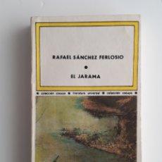Libros antiguos: EL JARAMA, DE RAFAEL SÁNCHEZ FERLOSIO. Lote 160507842