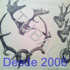 Libros antiguos: TUBAL 49 REVISTAS CAZA CINEGÉTICA TIRO REVISTA DEPORTIVA ENERO 1952 A ENERO 1956. Lote 160523458