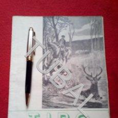 Libros antiguos: TUBAL CAZA CINEGÉTICA TIRO REVISTA DEPORTIVA MARZO 1952 G3. Lote 160525398