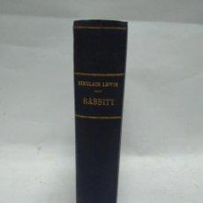 Libros antiguos: LIBRO - BABBITT - SINCLAIR LEWIS / N-8758. Lote 160613718