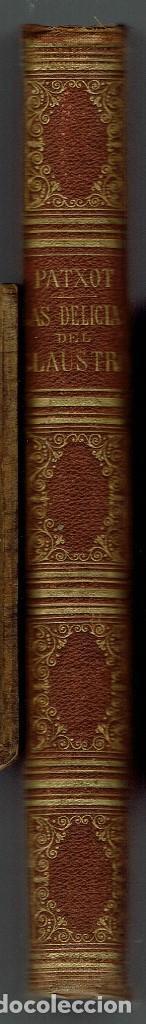 Old books: LAS DELICIAS DEL CLAUSTRO Y MIS ÚLTIMOS MOMENTOS EN SU SENO, POR FERNANDO PATXOT. 1875(MENORCA.2.3) - Foto 3 - 160662638