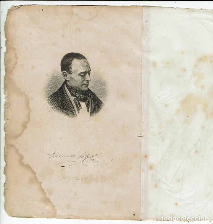 Old books: LAS RUINAS DE MI CONVENTO. MI CLAUSTRO, POR FERNANDO PATXOT FERRER. AÑO 1871. (MENORCA.2.3) - Foto 3 - 160663182
