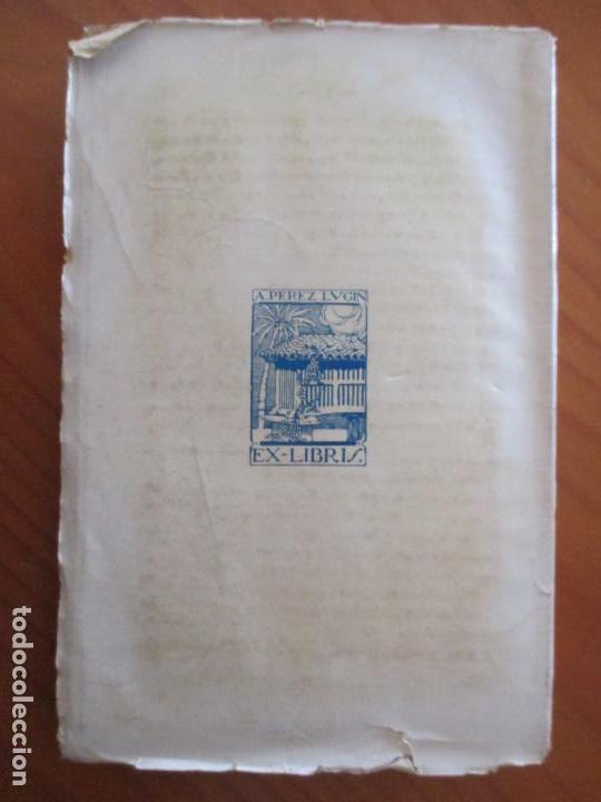 Libros antiguos: CURRITO DE LA CRUZ. 2 TOMOS. ALEJANDRO PÉREZ LUGIN. 1924. NOVELA. 11ª EDICIÓN - Foto 8 - 160673102