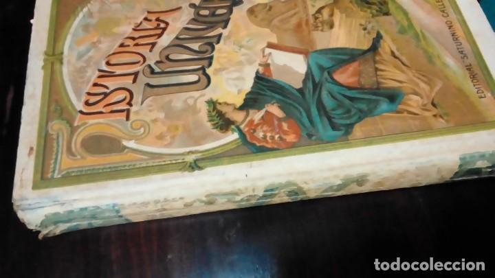 Libros antiguos: HISTORIA UNIVERSAL-EDIT-SATURNINO CALLEJA- - Foto 2 - 160676774