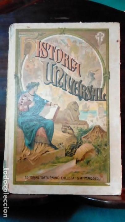 HISTORIA UNIVERSAL-EDIT-SATURNINO CALLEJA- (Libros Antiguos, Raros y Curiosos - Historia - Otros)