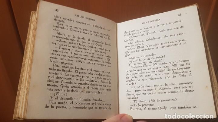 Libros antiguos: LA TIENDA DEL ANTICUARIO. CARLOS DICKENS. EDITORIAL ARALUCE. LIBRO DE COLECCIONISMO - Foto 5 - 206232523
