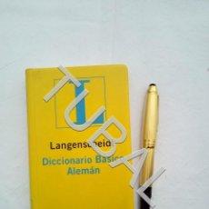 Libros antiguos: TUBAL DICCIONARIO ALEMAN DE BOLSILLO. Lote 160727042