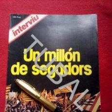 Libros antiguos: TUBAL NACIONALISMO CATALAN UN MILLON DE SEGADORS INTERVIU 1977 G8. Lote 177655218