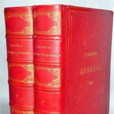 Libros antiguos: JOURNAL D'OLIVIER LEFEVRE D'ORMESSON, ET EXTRAITS DES MEMOIRES D'ANDRE LEFEVRE D'ORMESSON. 2 T.. Lote 160760478