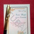 Libros antiguos: TUBAL 1945 TEYA TEIA FIESTA MAYOR DE LA ASUNCIÓN TRIPTICO. Lote 160842062