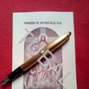 Libros antiguos: TUBAL 1950 TEYA PARROQUIA SAN MARTIN DE TEIA SOLEMNE TRIDUO. Lote 160843514
