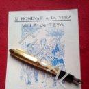 Libros antiguos: TUBAL 1962 TEYA TEIA FIESTA MAYOR DE LA ASUNCIÓN HOMENAJE A LA VEJEZ. Lote 160844910