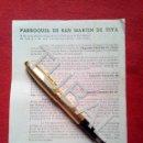 Libros antiguos: TUBAL 1949 TEYA PARROQUIA SAN MARTIN DE TEIA BANDO. Lote 160845526