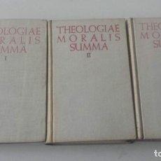 Livros antigos: THEOLOGIAE MORALIS SUMMA REGATILLO - ZALBA BAC 1952 - 1954. Lote 160854434