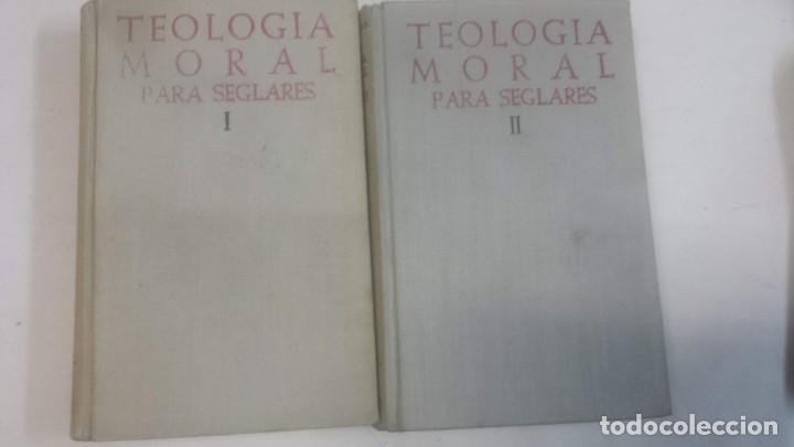 TEOLOGIA MORAL PARA SEGLARES BAC 1957 Y 1958 (Libros Antiguos, Raros y Curiosos - Pensamiento - Otros)