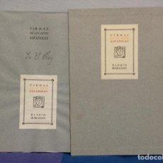 Libros antiguos: RAFAEL G. COLOMER Y VÍCTOR INFANTES (EDS.), FIRMAS DE LOS REYES ESPAÑOLES. YO EL REY. Lote 161139918