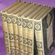 Libros antiguos: AVERIGUACIONES DE LAS ANTIGÜEDADES DE CANTABRIA. (7 TOMOS, OBRA COMPLETA). Lote 161185390