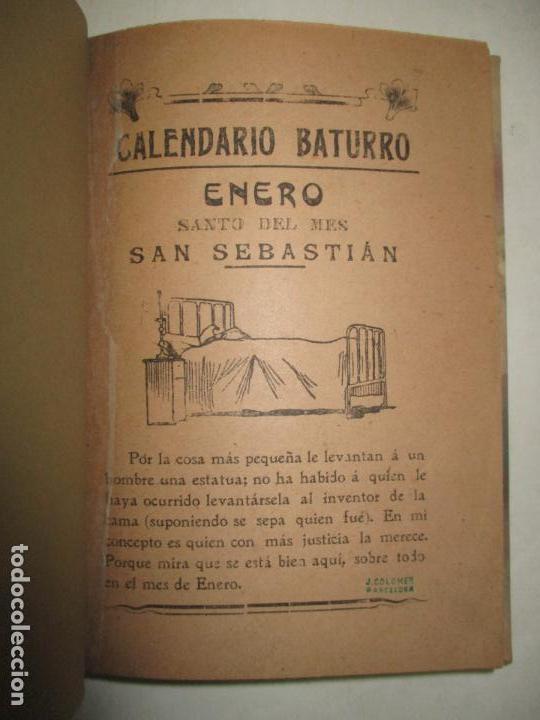 Calendario 1900.Calendario Baturro C 1900