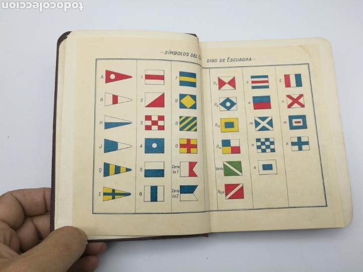 Alte Bücher: Código de señales de escuadra 1934 - Foto 2 - 161360534
