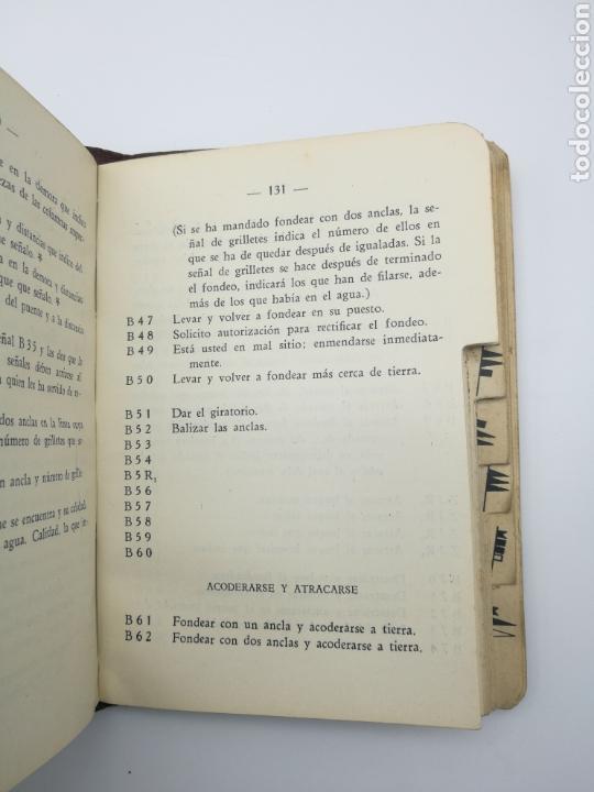 Alte Bücher: Código de señales de escuadra 1934 - Foto 4 - 161360534