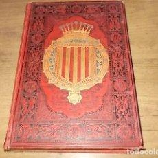 Libros antiguos: ESPAÑA,SUS MONUMENTOS Y ARTES,SU NATURALEZA E HISTORIA. CATALUÑA. TOMO I. PIFERRER / MARGALL. 1884. Lote 161443670