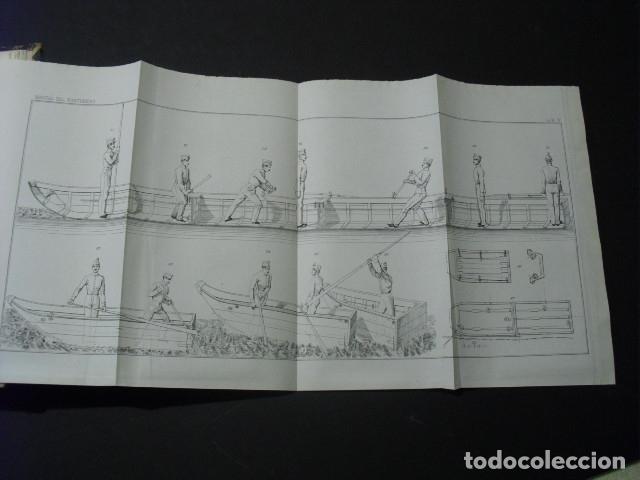 Libros antiguos: 1853 MANUAL DEL PONTONERO - Foto 4 - 26433447