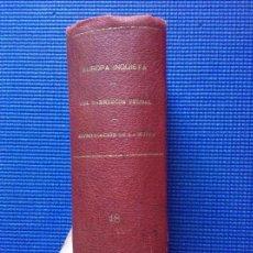 Libros antiguos: DEL MARRUECOS FEUDAL GARCIA FIGUERAS EUROPA INQUIETA GARCIA CALDERON DIGNIFICACION DE LA MUJER ROMER. Lote 161546990