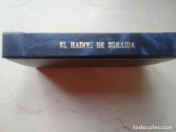 Libros antiguos: EL HADITS DE LA PRINCESA ZORAIDA. LEOPOLDO DE EGUILAZ YÁNGUAS. REENCUADERNADO. 1892 - Foto 3 - 161552874