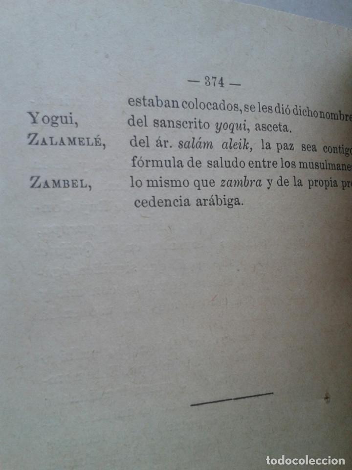 Libros antiguos: EL HADITS DE LA PRINCESA ZORAIDA. LEOPOLDO DE EGUILAZ YÁNGUAS. REENCUADERNADO. 1892 - Foto 7 - 161552874