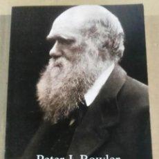 Libros antiguos: PETER J. BOWLER, CHARLES DARWIN. EL HOMBRE Y SU INFLUENCIA, ALIANZA, 1995. Lote 161559590