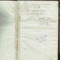 Libros antiguos: VARONES ILUSTRES DE MENORCA Y..., POR JUAN RAMIS Y RAMIS. AÑO 1817. (MENORCA.2.3). Lote 161671970