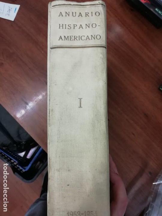 Libros antiguos: ANUARIO HISPANO AMERICANO - Foto 4 - 161709134