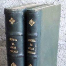 Libros antiguos: 2 TOMOS - REVISTA DE OBRAS PUBLICAS 1926 - CON ABUNDANTES ILUSTRACIONES A B/N PRIMER TOMO . Lote 161714214