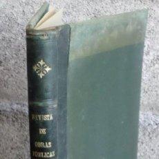 Libros antiguos: REVISTA DE OBRAS PUBLICAS 1919 - II // ORGANISMO DE LOS INGENIEROS DE CAMINOS, CANALES Y PUERTOS . Lote 161731942
