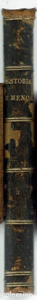 Libros antiguos: HISTORIA DE LA ISLA DE MENORCA (IV), POR PEDRO RIUDAVETS TUDURY. AÑO 1888. (MENORCA.2.3) - Foto 4 - 161871874