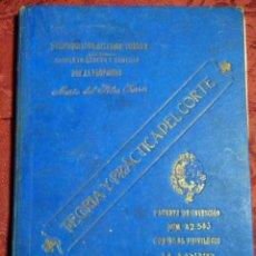 Libros antiguos: TEORIA PRACTICA DEL CORTE POR EL SISTEMA FERRER SEXTA EDICION AÑO 1920. Lote 161872642