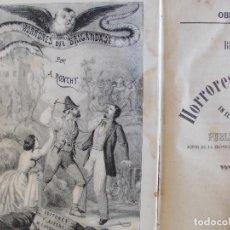 Libros antiguos: HORRORES DEL BRINGANDAJE Y SU ORIGEN EN EL TERRITORIO NAPOLITANO 1863. Lote 161893430