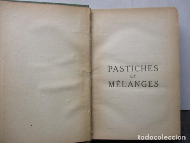 Libros antiguos: Pastiches et mélanges. (Francés) Tapa dura – 1919 de PROUST Marcel. - Foto 6 - 161927066