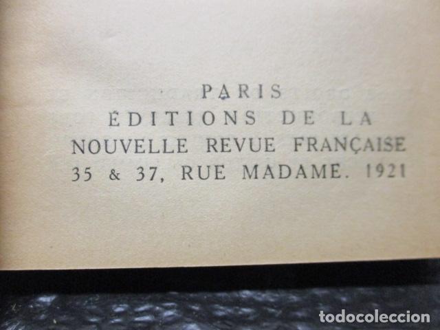 Libros antiguos: Pastiches et mélanges. (Francés) Tapa dura – 1919 de PROUST Marcel. - Foto 8 - 161927066