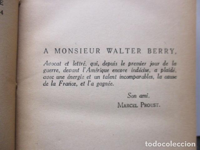Libros antiguos: Pastiches et mélanges. (Francés) Tapa dura – 1919 de PROUST Marcel. - Foto 10 - 161927066