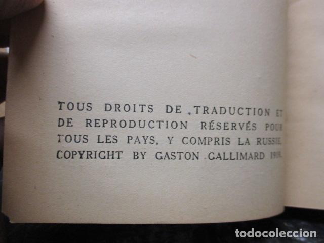 Libros antiguos: Pastiches et mélanges. (Francés) Tapa dura – 1919 de PROUST Marcel. - Foto 12 - 161927066