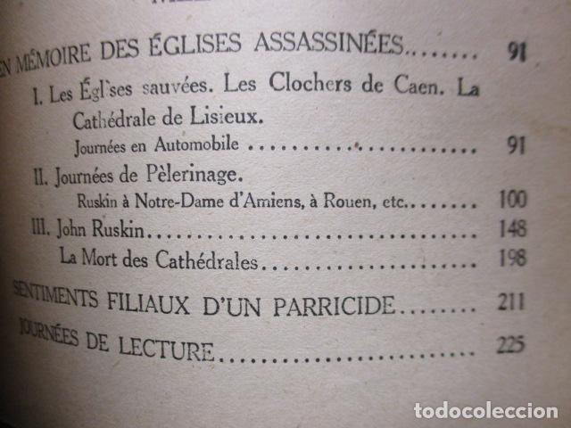 Libros antiguos: Pastiches et mélanges. (Francés) Tapa dura – 1919 de PROUST Marcel. - Foto 16 - 161927066