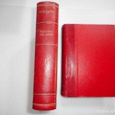 Libros antiguos: ELIE FAURE HISTORIA DEL ARTE (4 TOMOS EN 2 VOLÚMENES) Y93819. Lote 162054006