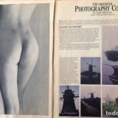 Libros antiguos: PHOTOGRAPHY COURSE, BY JOHN HEDGECOE, ROYAL COLLEGE OF ART (1979). Lote 162055702