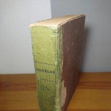 Libros antiguos: TOMO CON 14 NOVELAS DE BLANCO Y NEGRO, 1934. Lote 162296242